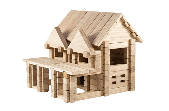 IGROTECO House with Balcony Building Set
