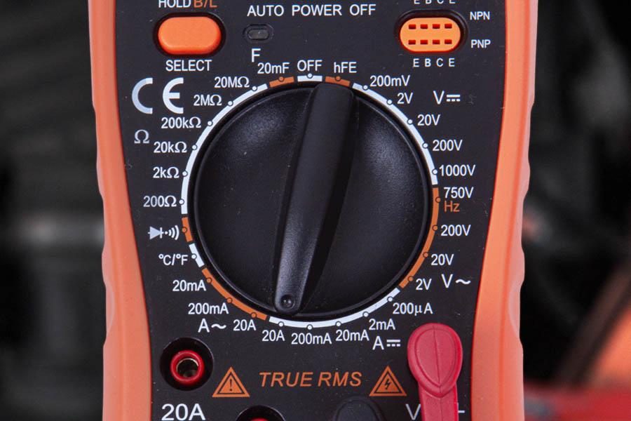 режим измерения тока