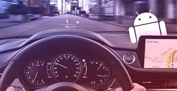 Установите навигацию на Android в вашей Mazda!