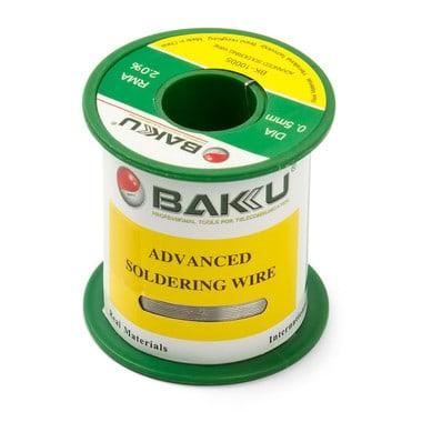 Припій BAKU BK-10005, Sn 97%, Ag 0.3%, Cu 0.7%, flux 2%, 0,5 мм, 50 г