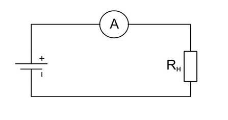 Струмові кліщі - електричне коло
