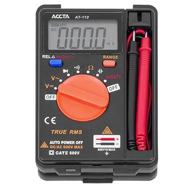 Кишеньковий цифровий мультиметр Accta AT-110