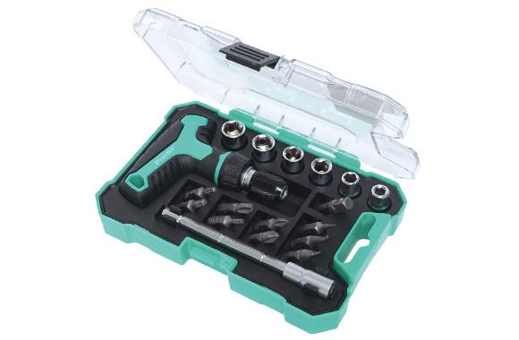 Гніздовий ключ з бітами і насадками Pro'sKit SD-2320M