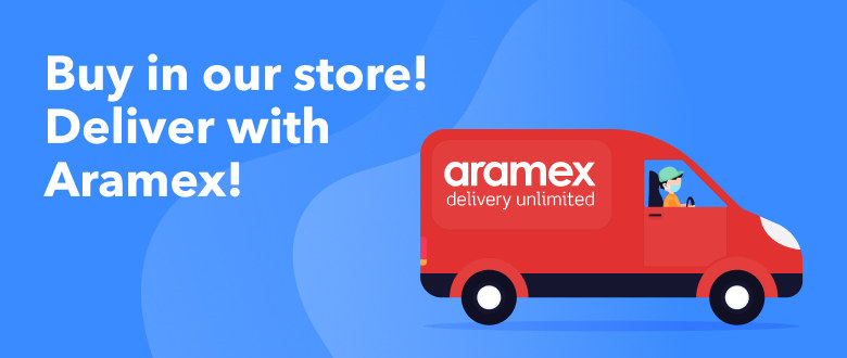 Aramex delivers from our website