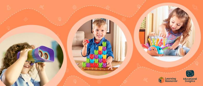 Іграшки для дошкільнят