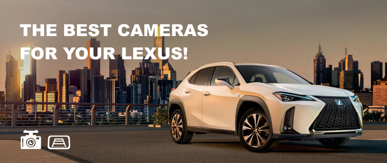 Front view cameras for Lexus
