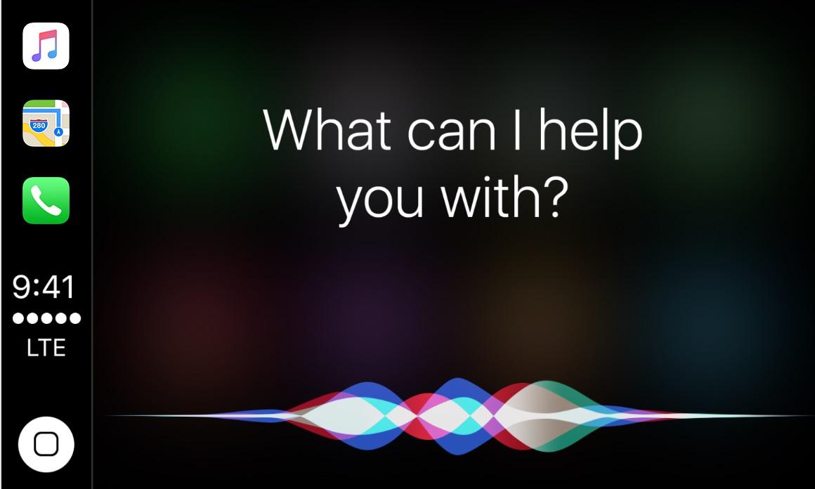 Голосовой помощник Siri