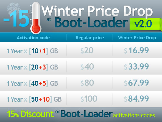 Winter Price Drop