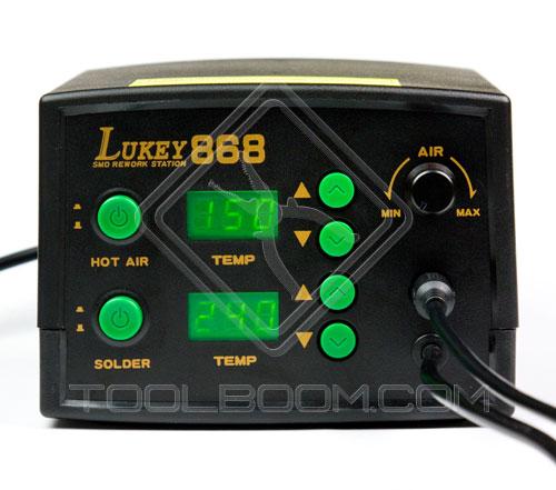 Lukey 868 Hot Air Soldering Station