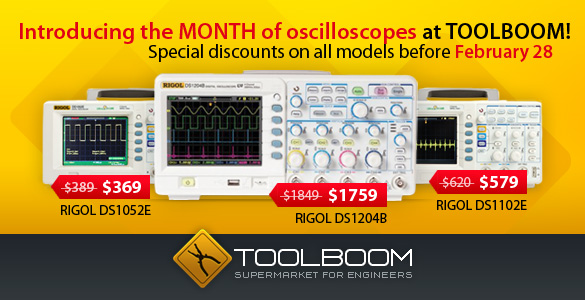 Oscilloscope Month at ToolBoom