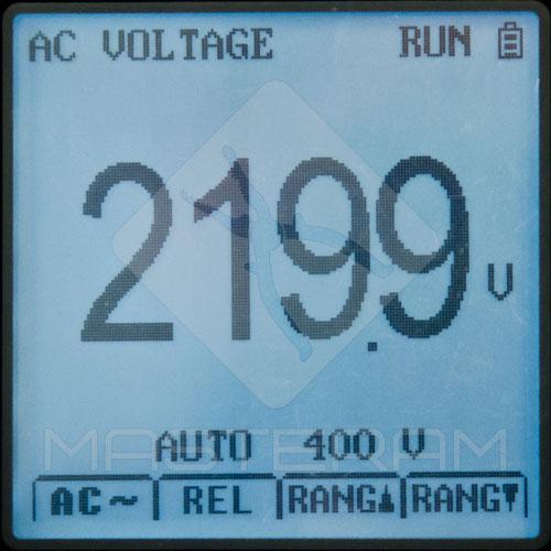 Режим мультиметра UNI-T UT81C