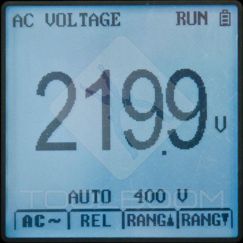 UNI-T UT81C Multimeter Mode