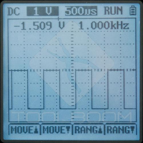 UNI-T UT81C Oscilloscope Mode