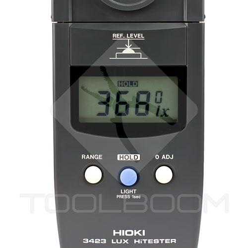 HIOKI HiTESTER 3423 Lux Meter