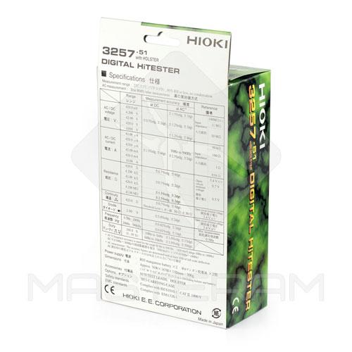 Упаковка професійного цифрового мультиметра HIOKI 3257-51