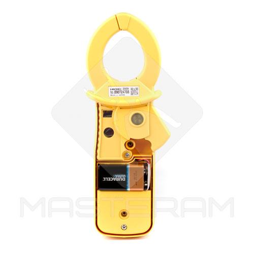 Розміщення елемента живлення струмовимірювальних кліщів HIOKI 3283