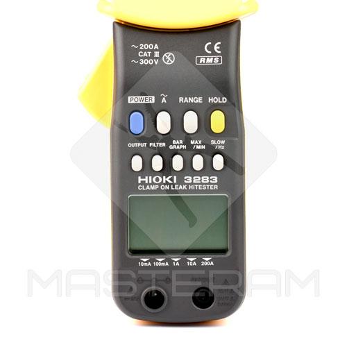 Панель керування струмовимірювальних кліщів HIOKI 3283