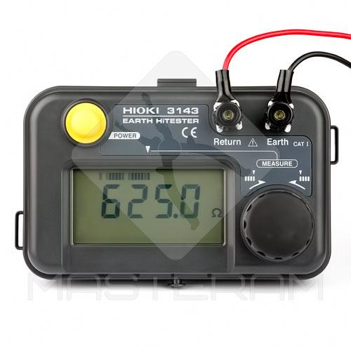 Робота вимірювача опору заземлення HIOKI 3143