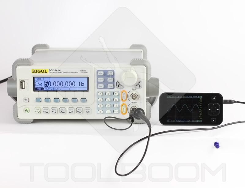 Testing DSO Nano DS0201 USB Digital Storage Oscilloscope1