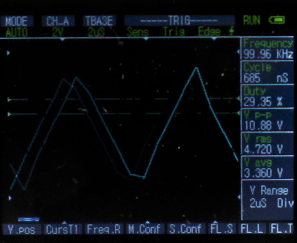 DSO Nano DSO201 Arm Digital Oscilloscope