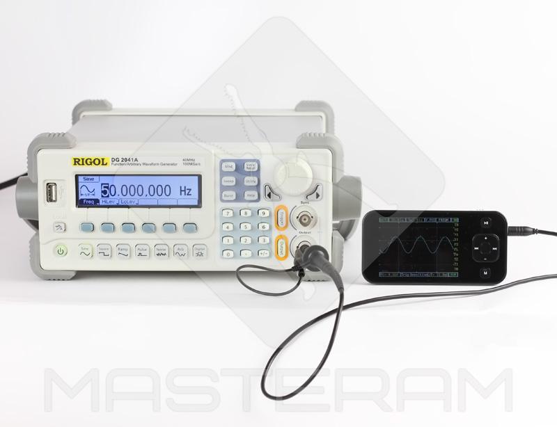 Тестирование карманного осциллографа DSO Nano 201