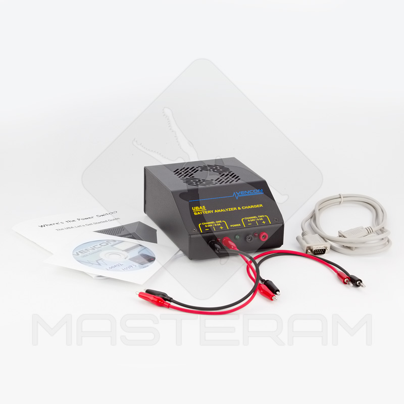 Комплектация анализатора батарей Vencon UBA5