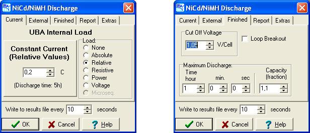 Программное обеспечение анализатора батарей Vencon UBA5