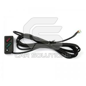 3-канальный автомобильный видеорегистратор с GPS Smarty BX3000. Пульт