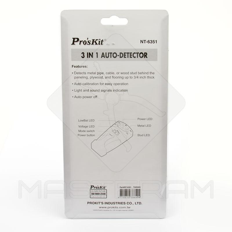 Упаковка детектора Pro'sKit NT-6351