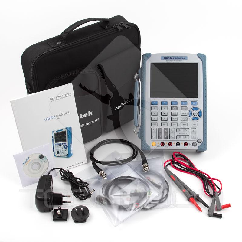 Hantek DSO8060 Digital Oscilloscope Packaging