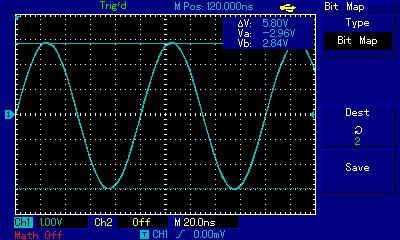 Осциллограммы сигналов с генератора Hantek DSO8060