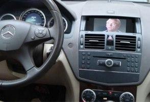 6 Автомобильный сенсорный HD-монитор для Mercedes-Benz W204 (C-Class)