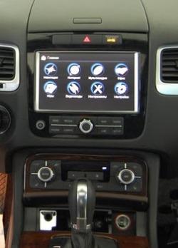 Подключение навигационного блока CS9100 в Volkswagen Touareg 2011