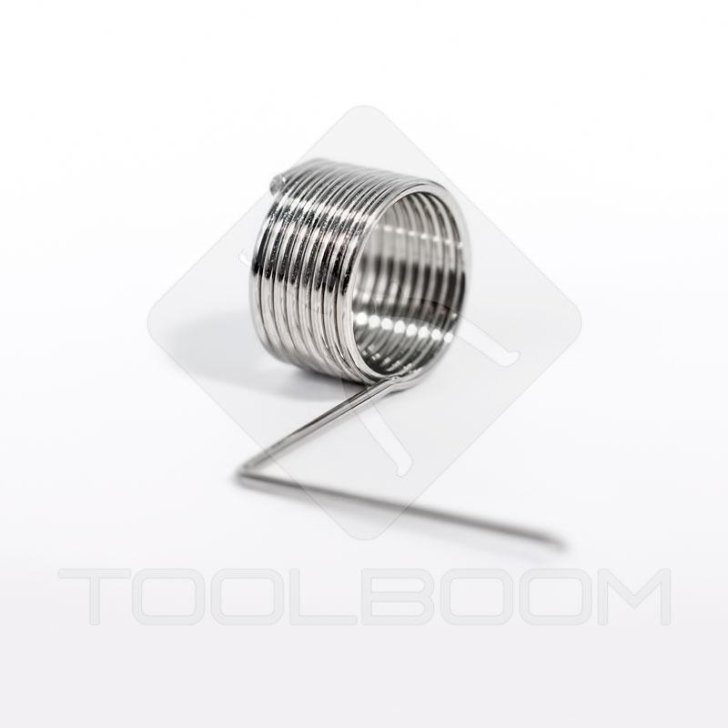 Spring nozzle for precision ICs