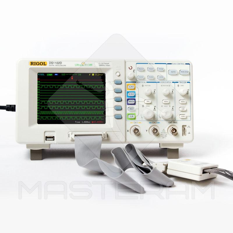 Цифровий осцилограф DS1102D