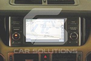 Пример навигации на штатном мониторе Range Rover Vogue 2012