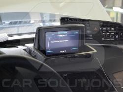 Штатный монитор Audi Q3 до установки навигационного блока CS9100