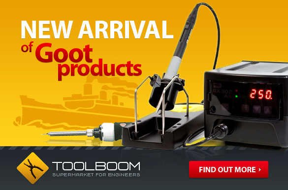Order new models of soldering irons, soldering stations and other soldering tools at attractive price