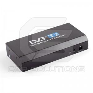 Автомобильный цифровой тюнер DVB-T2 с функцией записи