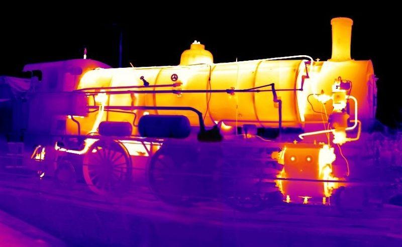 Тепловое распределение парового локомотива