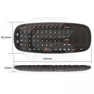Беспроводная мини-клавиатура с тачпадом и указкой
