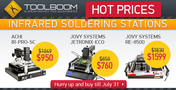 Infrared Soldering Stations