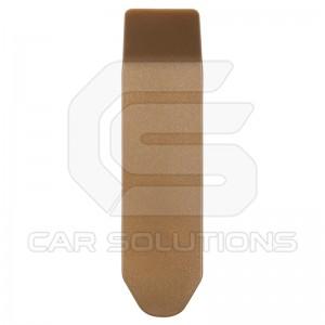 Пластиковая лопатка с загнутыми концами