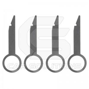 Ключи для демонтажа автомагнитол