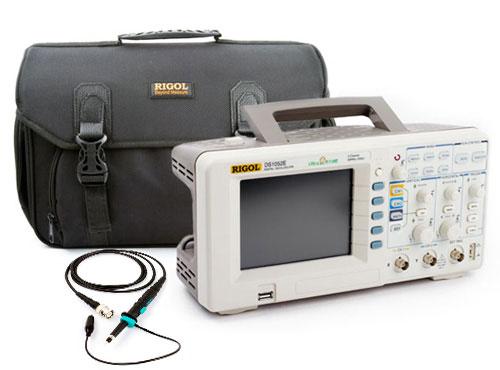 Цифровой осциллограф RIGOL DS1052E с сумкой