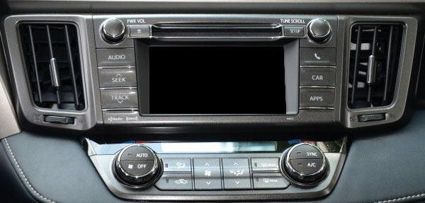 Монитор Toyota Touch