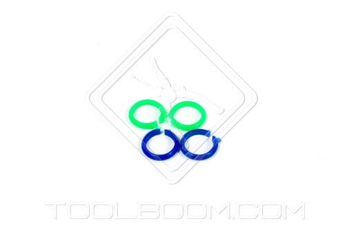 Coloured probe rings