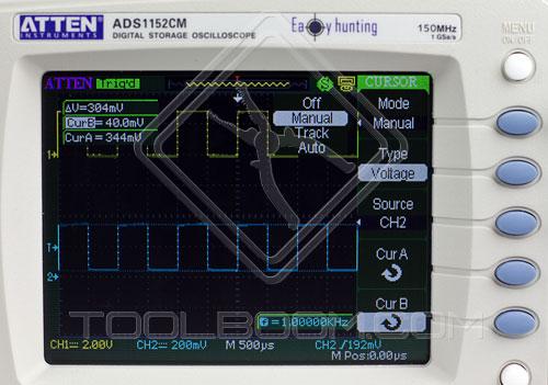 ATTEN ADS1042CM - amplitude value