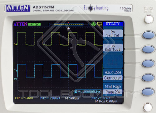 ADS1042CM Utility Menu