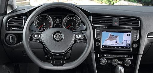 Видеоинтерфейс с навигацией для Volkswagen Golf 7 2013